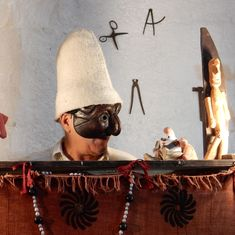 An artist lauded by the Pope explains why Indian and Italian puppetry share the same spirit