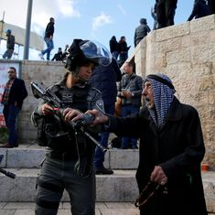 Dozens hurt as Palestinians clash with Israeli forces in protests after Trump's Jerusalem decision