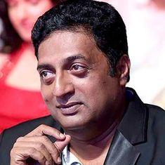 Actor Prakash Raj: 'When you silence a voice, a louder voice will be born'