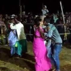 Watch: Jharkhand's 'kissing competition' for married couples that has upset the BJP