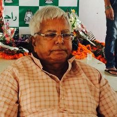 Fodder scam verdict out today, Lalu Prasad Yadav says BJP wants him in jail