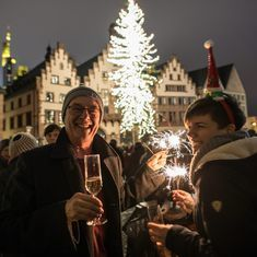 'Tis the season: Pictures of Christmas cheer from across the world