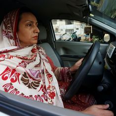 Meet Karachi's female 'Paxi' drivers who brave harassment to ferry other women safely