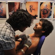 Indian millennials are embracing religious and spiritual tattoos, as indigenous cultures reject them
