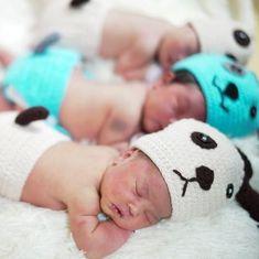 Video: Nurses at a Bangkok hospital are dressing up newborn babies as puppies