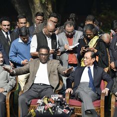 Video: Four Supreme Court judges go against Chief Justice of India, say 'things are not in order'