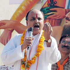 Togadia is writing book about Ram temple drive – and he isn't happy about Modi's inaction, says aide
