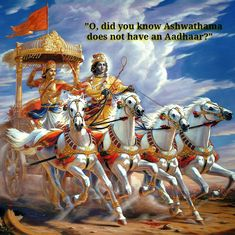 Even Mahabharata heroes are pointing out the epic failures of Aadhaar