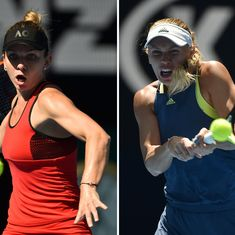 A poignant new narrative for Halep and Wozniacki's stories of roller-coaster resilience