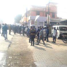 Uttar Pradesh: Mobs set shops and buses on fire in Kasganj, 49 arrested