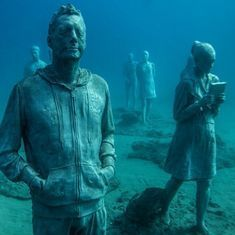 Watch: A museum under the Atlantic Ocean to generate awareness about loss of ecosystems in oceans
