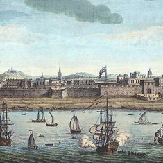 A slice of history: What a British city plan tells us about late 17th century Madras