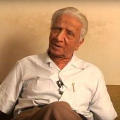 Remembering Niranjan Bhagat (1926-2018), a giant of Gujarati poetry
