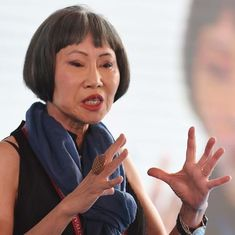 Embracing your complicated family and four other lessons on fiction writing from Amy Tan