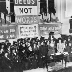 Video: On this day in 1918, leaders of the UK Suffragette movement won the right for women to vote