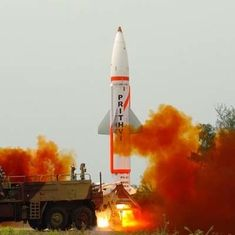 Indian Army successfully test-fires nuclear-capable Prithvi II missile from Odisha