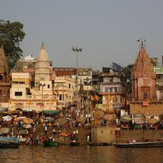 In Varanasi, a plan to build corridor from Kashi Vishwanath temple to river Ganga sparks anger