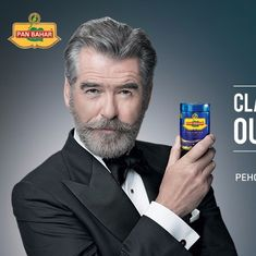 Delhi government issues notice to Pierce Brosnan over a paan masala advertisement