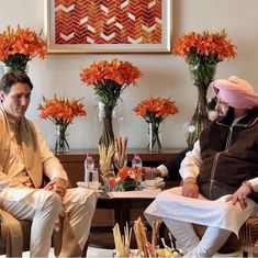 Punjab CM meets Justin Trudeau, says they discussed Khalistan funding issue