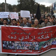 Protests by Pakistan's Pashtuns pit human rights demands against the War on Terror