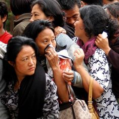 Why does Nagaland rank last on national list of  women candidates contesting elections?