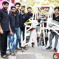 Kerala engineers who developed robot to clean manholes are on a mission to end manual scavenging