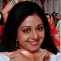 Thank you, Sridevi, for giving me the courage to embrace my inner Chandni