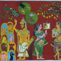 Moving from scrolls to key chains, an art form from Telangana fights to stay relevant