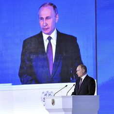 Russia: Vladimir Putin unveils new nuclear arsenal that he claims can hit anywhere on earth