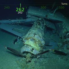Wreckage of World War II ship USS Lexington found 76 years later off Australia's east coast