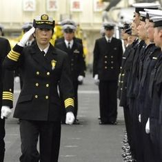Video: Meet Ryoko Azuma, who became the first woman commander of Japan's warship squadron