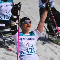 'I feel like I'm on cloud nine': Chernobyl victim Oksana Masters wins gold at Winter Paralympics