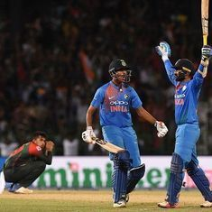 Playing Dinesh Karthik at No 7 was a planned move, says Rohit Sharma
