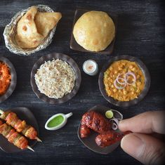From vadas to chole bhature: An artist's clay miniatures of Indian food find fans worldwide