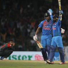 'Nothing else you could do other than try to get a boundary': Karthik's strategy before epic cameo
