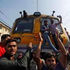 'Where are the jobs promised by Skill India?': Railway trainees explain their rail roko in Mumbai