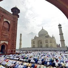 Locals protest as non-Agra Muslims are barred from offering Friday prayers at Taj Mahal complex