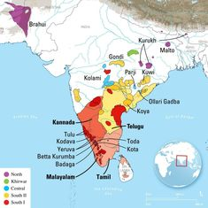 The family of Dravidian languages is 4,500 years old, finds new study