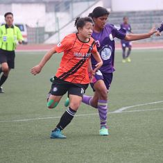 IWL: Sandhiya's 74th minute goal gives Indira Gandhi Academy a narrow win over India Rush