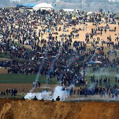 Gaza: Seven killed, over 300 injured as Palestinians begin 'March of Return' to Israel