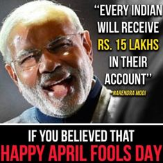 Post-truth April Fool's Day: Indian politicians, media and brands struggle to break 'fake news'