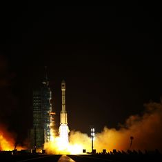 China says defunct space station Tiangong-1 plummets to Earth, burns up over South Pacific