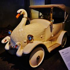 A Swan Car that spread panic on Kolkata's streets in 1910 has been recreated in Hyderabad