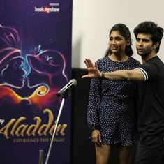 A whole new world: 'Aladdin' makes its Mumbai debut as a Broadway musical with an Indian flavour