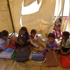 In Gujarat's isolated Rann of Kutch, 'tent schools' offer hope to children of Agariya salt workers