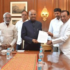 YSR Congress Party urges president to intervene, push Centre to grant Andhra Pradesh special status