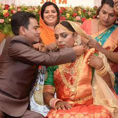 In a first, transsexual couple get married in Kerala