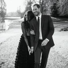 Actor Meghan Markle will marry Prince Harry today