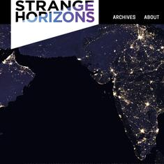 Two stories lead India's modern science-fiction charge into the sci-fi magazine Strange Horizons