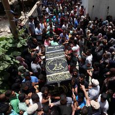Israeli tanks shell Gaza Strip, Islamic Jihad group says two militants killed
